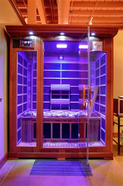 Infrared Sauna With Salt Wall In Nh Hotel Zandvoort The: EvolutionHealth.com Introduces Low EMF Infrared Heaters