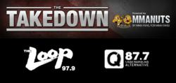 mmanuts, the takedown, mma show
