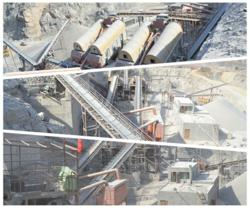 DSMAC has successfully consructed China largest aggregate production line in Changjiu Quarry,Xingyang,China
