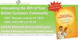 Webinar: The ROI of Online Communities