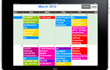 Colorful Scheduling Program