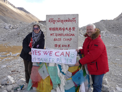 Tibet Everest Base Camp is reopen again