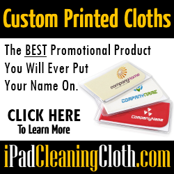 Custom Printed Cleaning Cloths