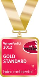 Lane End Conference Centre has Gold Standard Accreditation for customer satisfaction