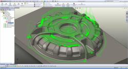 CNC Software BobCAM 3 Axis PRO Milling Screen Shot