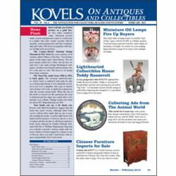 kovels, antique, collectible, glass, teddy roosevelt, advertising, furniture, teddy bear, pewabic, daguet