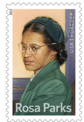 Rosa Parks Commemorative Stamp