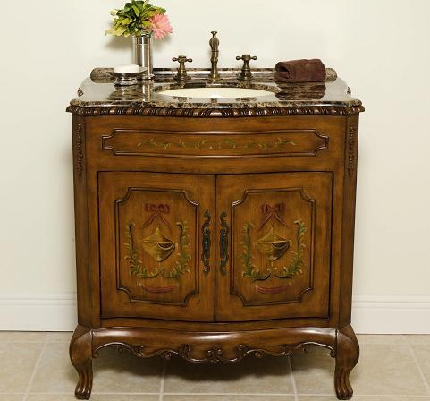 tip sheet on antique bathroom vanities for a lavish bathroom design - Antique Bathroom Vanity