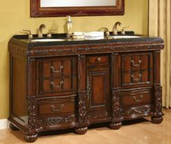 Bradford Antique Double Vanity From B And I Direct