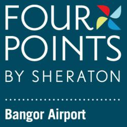 Four Points Bangor Hotel is connected to Bangor International Airport via enclosed walkway