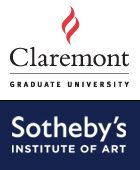 Logos for Claremont Graduate University and Sotheby's Institute of Art