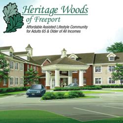 Heritage Woods of Freeport Rendering Exterior