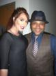 Jenna Bentley and Anthony Anderson