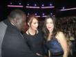 Jenna Bentley, Sandra Bullock and Quinton Aaron