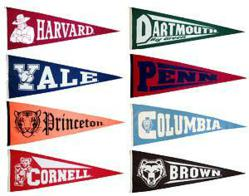 Kweller Prep - Ivy League flags