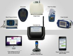 Carematix telemonitoring solution used in collecting PRO during clinical trials.