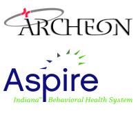 logos for Archeon and Aspire Indiana, Inc.