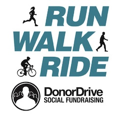 DonorDrive Run Walk Ride Logos