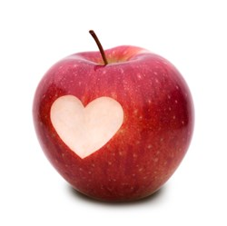 Heart healthy apples