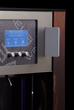 WineEmotion display interface with optional keycard technology and wood paneling