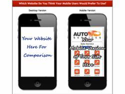 Free Mobile Website Mockup