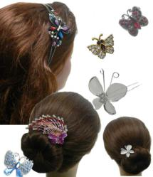 Bella Fashion Jewelry offers a wide range of Butterfly Hair Accessory