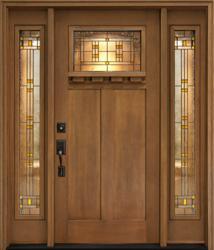 Clopay-Craftsman-front-door