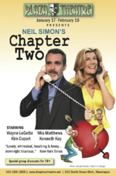 "Mia Matthews Stars in Neil Simon's ""Chapter Two"" at the Plaza Theatre"