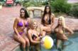 JetBoob Staff Members Poolside