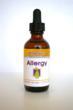 Old label for Dr. Garber's Natural Solutions Allergy