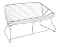 Fermob outdoor lounge, french bistro, patio furniture, sixties bench, sixties armchair