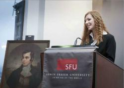 Robbie Burns - Simon Fraser University - Men In Kilts Franchise