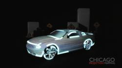 Car Light Trace Demo from Chicago Projection Mapping