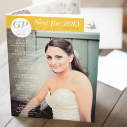 Magazine Photoshop template for professional photographers to present to clients
