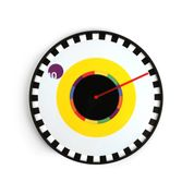 Clock by Milton Glaser
