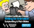 Vancouver Animation School, Writing for Animation