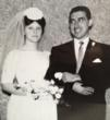Jim and his wife on their wedding day. They will be celebrating their 50th anniversary with a trip to Washington D.C. and a half-marathon for Team In Training.