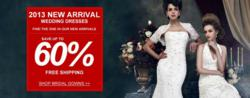 Wedding Dress Promotion for Valentine's Day 2013