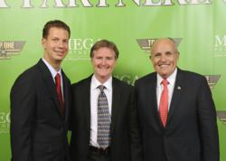 Lion Pride Capital Partner Robert Guild with Rudy Giuliani