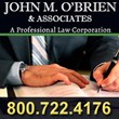 John M. O'Brien & Associates Expanding Law Firm - Adding a New Attorney On Staff