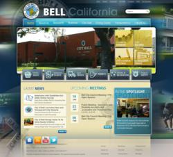 City of Bell, CA website Vision Internet government corruption trial