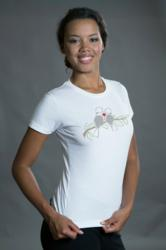 photo of geeky t-shirt called Love Nerds with a pair of birds graphic from Tees For Your Head