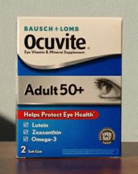 Ocuvite Adult 50+ Eye Vitamin & Mineral Supplement