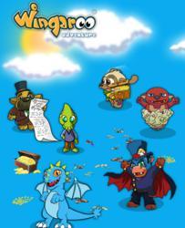 Wingaroo Adventure Characters