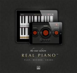 Play, Record, Share: The new Real Piano HD Pro now supports recording and sharing.