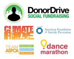 DonorDrive, AFSP, Team ASPCA, Climate Ride, Dance Marathon