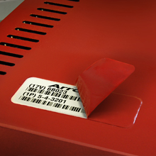 Durable Barcode Paint Mask Labels from Camcode