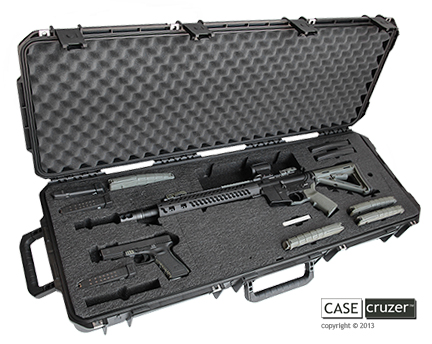 New Casecruzer Ar Sports Rifle Case Prevents Unauthorized