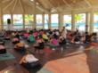 Tiffany Cruikshank yoga retreat at Manchebo Beach Resort & Spa -...