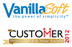 VanillaSoft Wins Product of the Year 2012